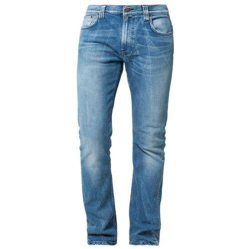 Nudie Jeans THIN FINN Jeansy Slim fit moody blue - produkt z kategorii- spodnie męskie