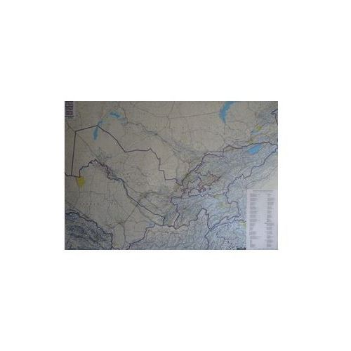 Mapa ścienna Azja Środkowa 1:1 500 000  & Berndt, produkt marki Freytag