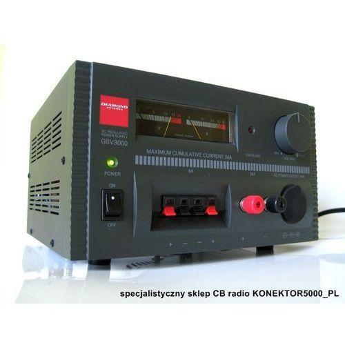 ZASILACZ TRANSFORMATOROWY DIAMOND GSV-3000 34A superjakość z kategorii Transformatory