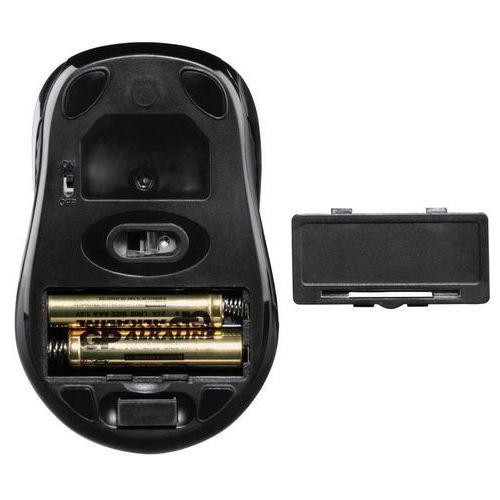 Hama Mysz optyczna bezprzewodowa AM-7300, czarna z kat. myszy, trackballe i wskaźniki