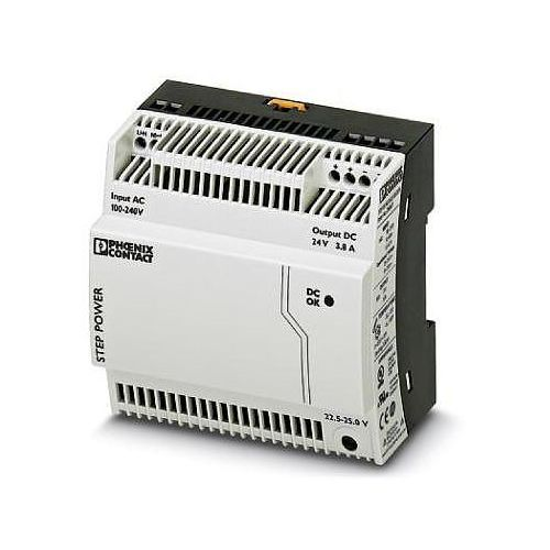 Artykuł Zasilacz STEP-PS/ 1AC/24DC/3.8/C2LPS Phoenix Contact STEP-PS/ 1AC/24DC/3.8/C2LPS 2868677, 24 V/DC 3.8