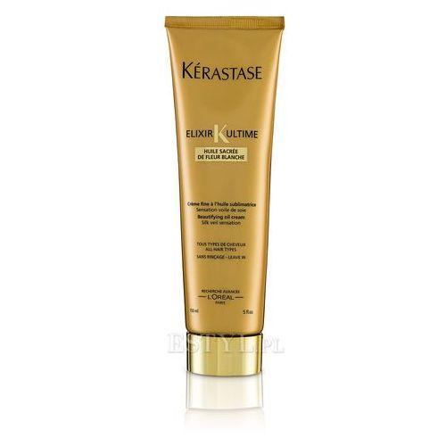 Kerastase Elixir Ultime Cream - nabłyszczjąco - odżywczy krem do włosów 150ml - produkt z kategorii- odżywki do włosów