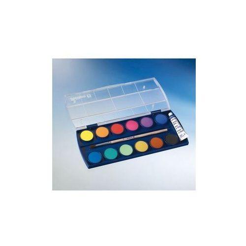 Oferta Farby szkolne wodne Pelikan - 12 kolorów + tubka białej farby [f527dca34fd3542d]