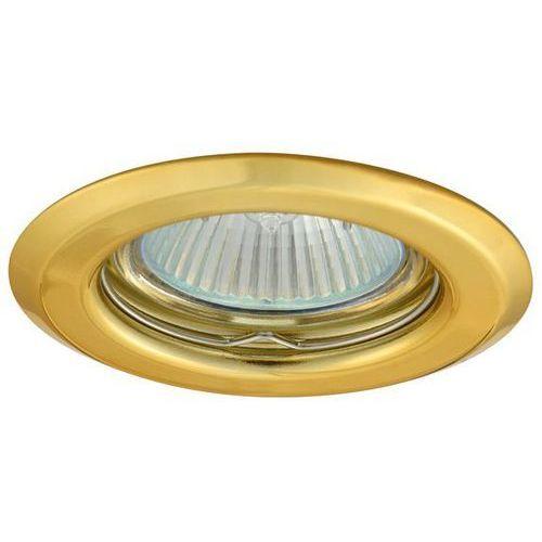 Superled Oprawa oprawka led halogenowa stała okrągła kolor złoty OH14 0831 z kategorii oświetlenie