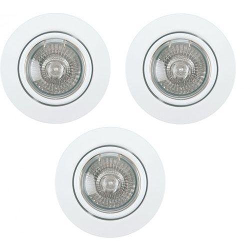 Zestaw Opraw Stropowych SPOTLIGHT Cristaldream 2000322 Biały z kategorii oświetlenie