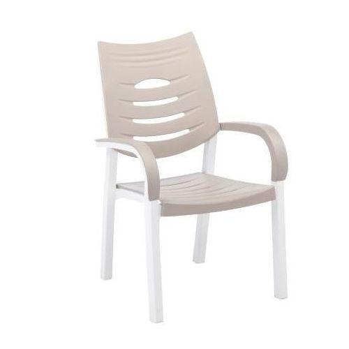Kettler Happy Fotel biały/piaskowy ze sklepu REDCOON