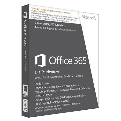 MS Office365 University 32-bit/x64 PL 4lata AE Medialess z kategorii Programy biurowe i narzędziowe