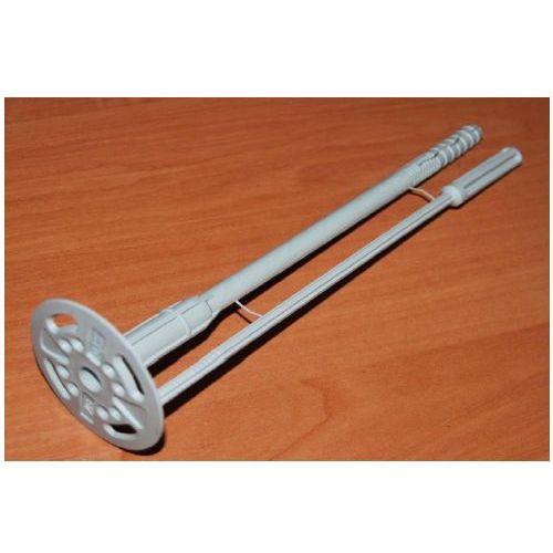 Łącznik izolacji do styropianu wzmocniony Ø10mm L=180mm opakowanie 400 sztuk (izolacja i ocieplenie)