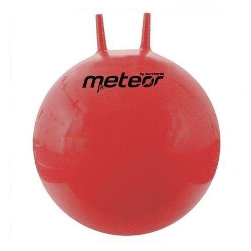 Piłka skacząca 55cm z rogami, produkt marki Meteor