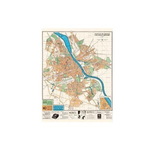Plan Miasta Warszawy, Wydawnictwo Polskie Sp. z o.o., 1942 r., produkt marki Golden Maps Publishing