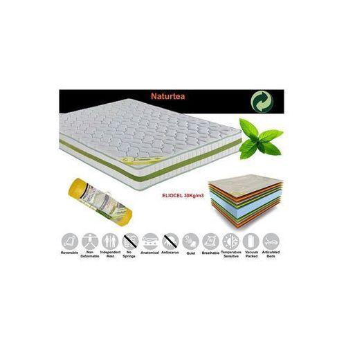Antyalergiczny materac Naturtea 23 200x200 cm / Gwarancja 24m / NAJTAŃSZA WYSYŁKA !, produkt marki Euromat