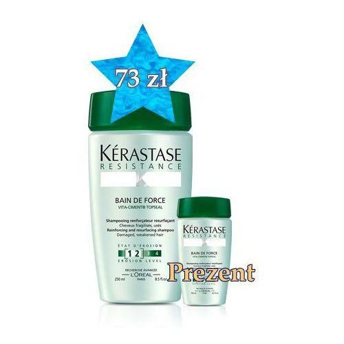 Produkt z kategorii- odżywki do włosów - Kerastase Kąpiel Wzmacniająca 1-2 250 ml + travel size w PREZENCIE