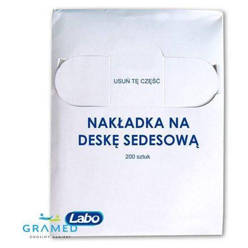 Higieniczne nakładki na deskę sedesową do podajnika (zapas 200szt ), kup u jednego z partnerów