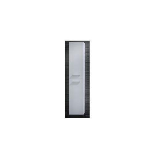 Szafka Elita Kwadro 30 słupek 2D czarna 164591 - produkt z kategorii- regały łazienkowe