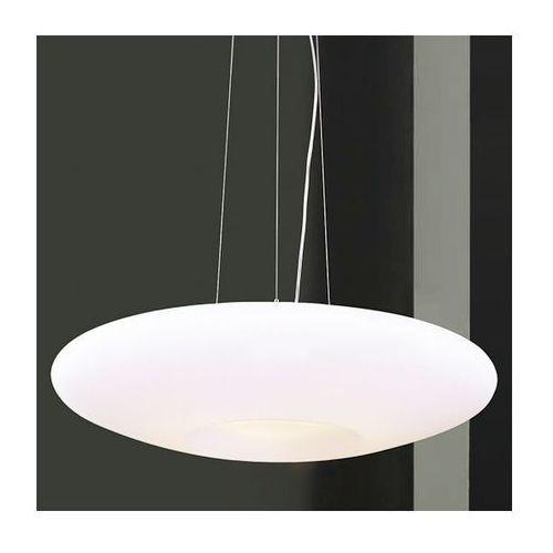LAMPA wisząca OPRAWA owalna ZWIS do kuchni UFO Italux MD4107-3D IP20 chrom biały - sprawdź w MLAMP.pl - Rozświetlamy Wnętrza