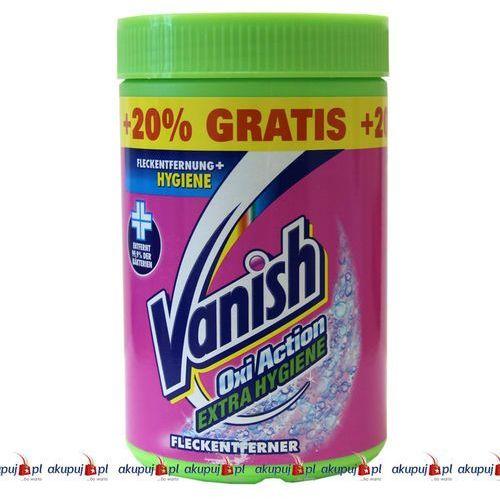 Towar z kategorii: wybielacze i odplamiacze - Niemiecki odplamiacz Vanish Oxi Action Exta Hygiene 620g