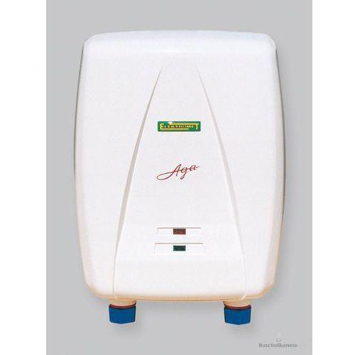 Produkt  AGA, przepływowy ogrzewacz wody, nadumywalkowy, 5,5 kW [250-00-151], marki Elektromet