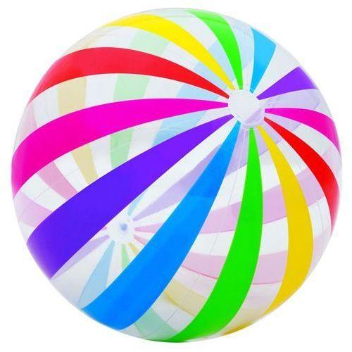 Piłka plażowa INTEX Gigant Tęczowa 59065 od Media Expert