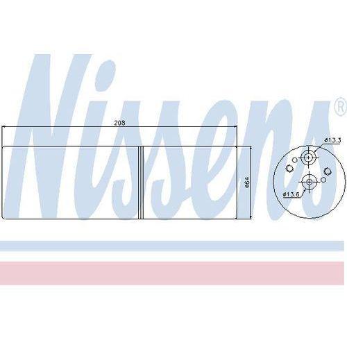 Towar z kategorii: osuszacze powietrza - Osuszacz, klimatyzacja NISSENS 95231