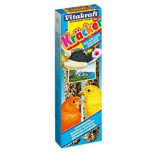 VITAKRAFT Kracker - kolba bananowo-sezamowa dla kanarka 2szt., Vitakraft