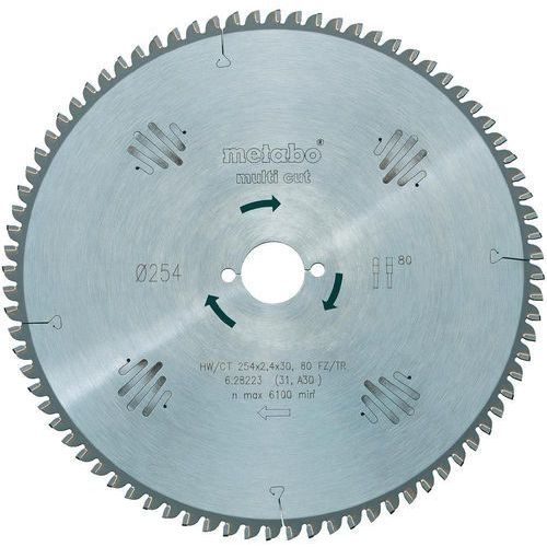 Oferta Tarcza tnąca Metabo HW/CT 305X30 96 FZ/TR5, 305 x 30 mm, 96 z/cal, gr. 2 mm