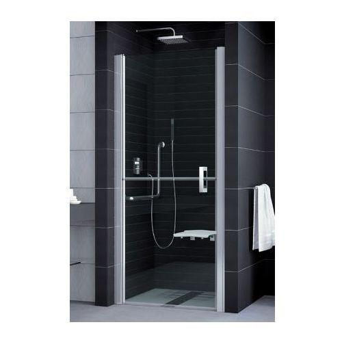 SANSWISS MOBILITY 2 Drzwi dwuczęściowe dzielone w połowie 80 lewe SLM2G08005007 (drzwi prysznicowe)