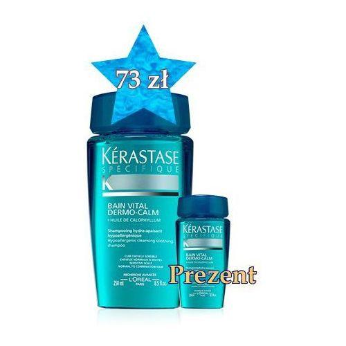 Produkt z kategorii- odżywki do włosów - Kerastase Witalizująca Kąpiel Kojąca 250 ml + travel size w PREZENCIE