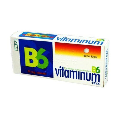 Vit. B6 50mg x 50 tabl., postać leku: tabletki