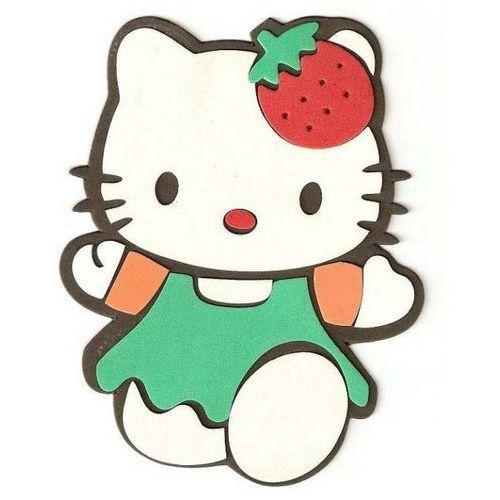 Obrazek - zabawka na ścianę w kształcie Kitty - mały od marikus.pl