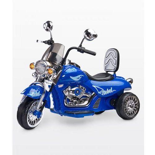 Caretero Motocykl na akumulator Rebel, Blue ze sklepu Mall.pl