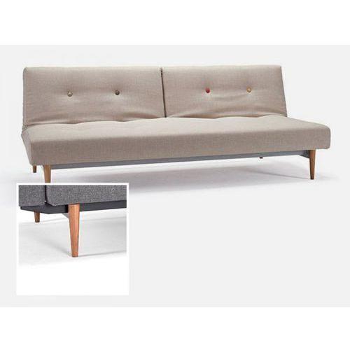Sofa Fiftynine beżowa 501 nogi jasne drewno  741024501MC-741024-1-6, INNOVATION iStyle