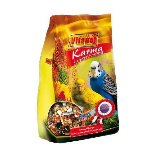 Pokarm pełnowartościowy dla Papużki falistej Torba 500g, Vitapol