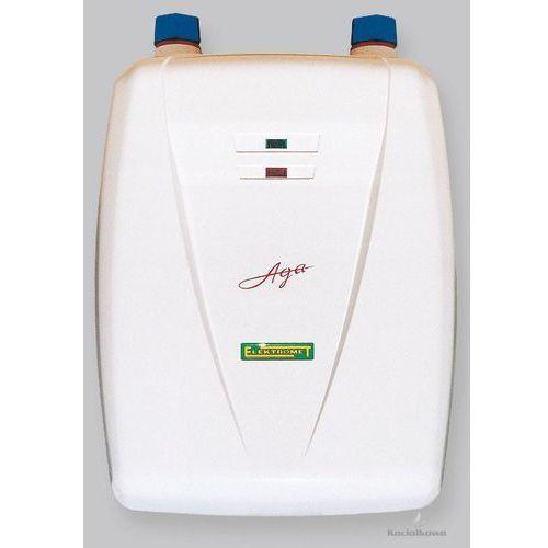 Produkt  AGA, przepływowy ogrzewacz wody, podumywalkowy, 3,5 kW [250-00-231], marki Elektromet