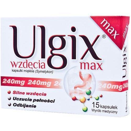 Ulgix wzdęcia Max x 15 kaps - produkt farmaceutyczny