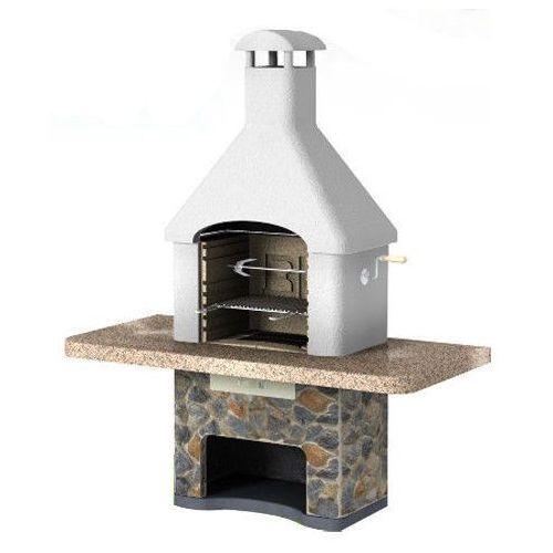 Grill betonowy z wędzarnią Musalla wersja 2 od GrillCenter.com.pl