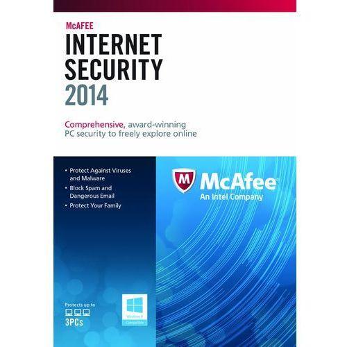 McAfee Internet Security 2014 PL 3 PC Licencja na rok - oferta (65196221b5f522be)