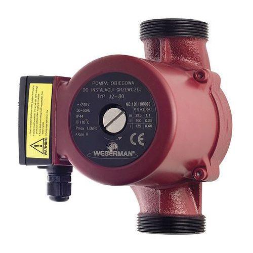 Towar Pompa 32/80-180 Weberman 0401W  z kategorii pompy cyrkulacyjne