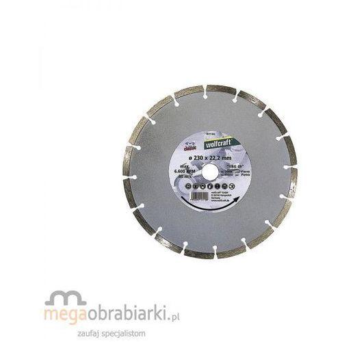 Oferta WOLFCRAFT Tarcza tnąca diamentowa Classic-Universal 125 x 22,2 mm RATY 0,5% NA CAŁY ASORTYMENT DZWOŃ 77 415 31 82