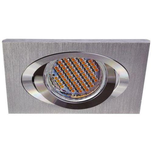 Kobi Oprawa oprawka led halogenowa ruchoma kwadratowa kolor aluminium OH28 3573 z kategorii oświetlenie