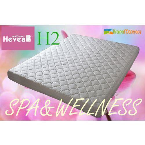 Materac Lateksowy HEVEA COMFORT H2 200x90 POKROWIEC SPA WELLNES Wyprzedaż kolekcji 2014, produkt marki Hevea