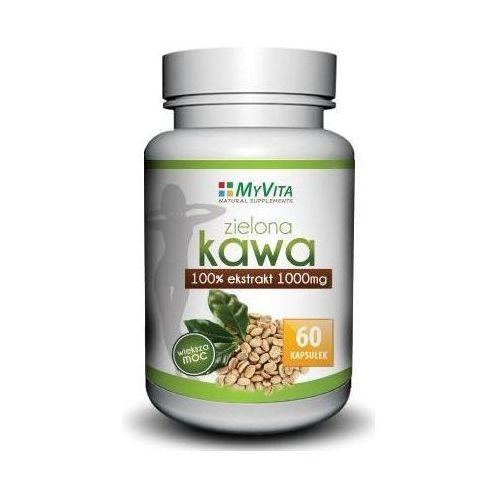 Zielona kawa 1000mg - 60 kaps. ! wyprodukowany przez Myvita