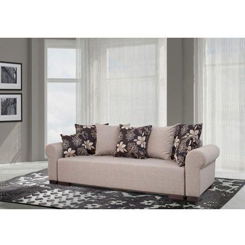 Sofa rozkładana Dakota - beżowy, Meble tapicerowane
