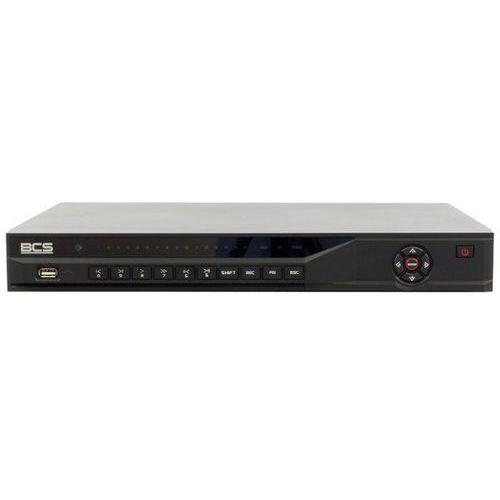 BCS-NVR16025M-P Rejestrator sieciowy 16 kanałów, Switch PoE 8 portów, 2 HDD SATA, USB, VGA, HDMI, PTZ, Bitrate 160/160