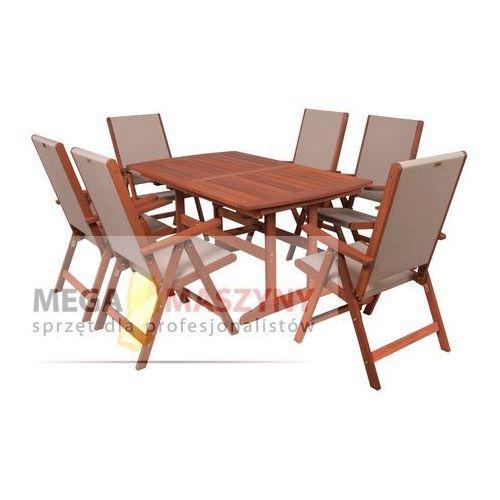 HECHT Zestaw mebli ogrodowych stół + 6 krzeseł Milano Set od Megamaszyny - sprzęt dla profesjonalistó