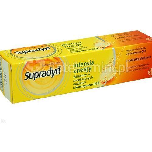 Supradyn intensia energy x 15 tabl musujących, postać leku: tabletki