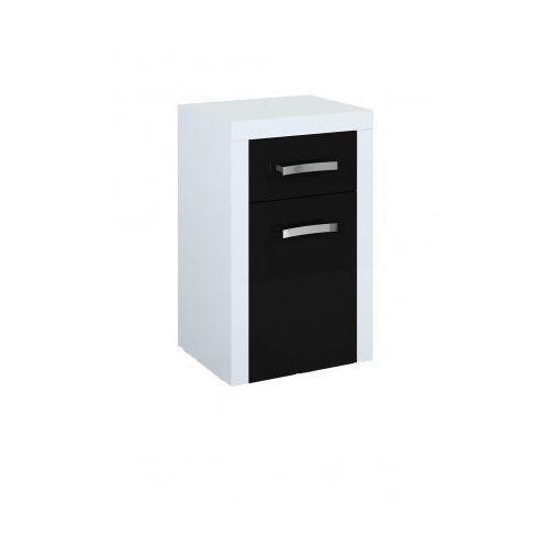 ELITA Tokyo Black&White komoda (półsłupek) 164253 - produkt z kategorii- regały łazienkowe