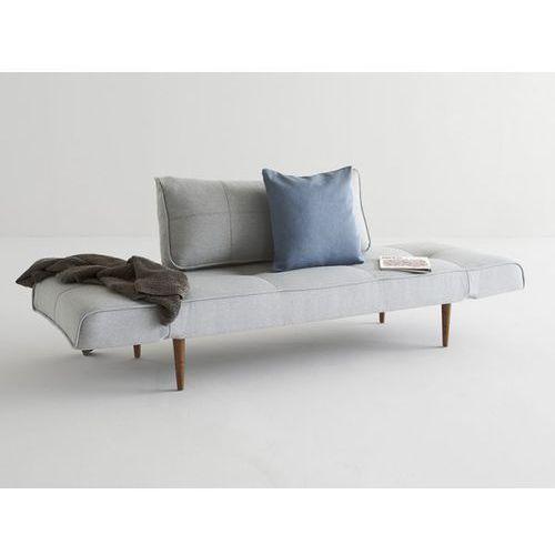 Sofa Zeal szara 552 nogi ciemne drewno  740021552-2-740021-3, INNOVATION iStyle