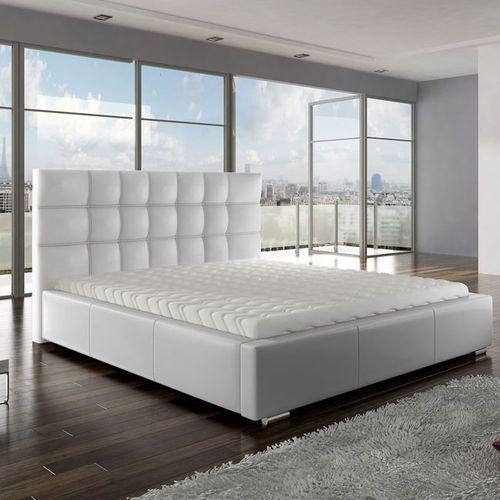 ANETTE łóżko tapicerowane z pojemnikiem - komplet ze sklepu Meble Pumo