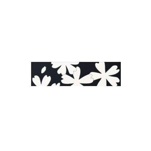 Tubądzin Listwa ścienna Flower White 1 59,3x16,25 cm (glazura i terakota)