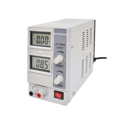 Zasilacz laboratoryjny, pojedyncze wyjście, dwa wyświetlacze (15V 2A) z kategorii Transformatory